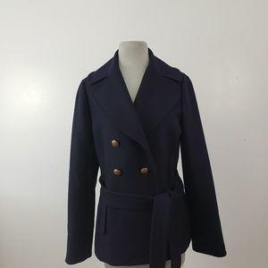 J.Crew Coat 100% Wool size 6